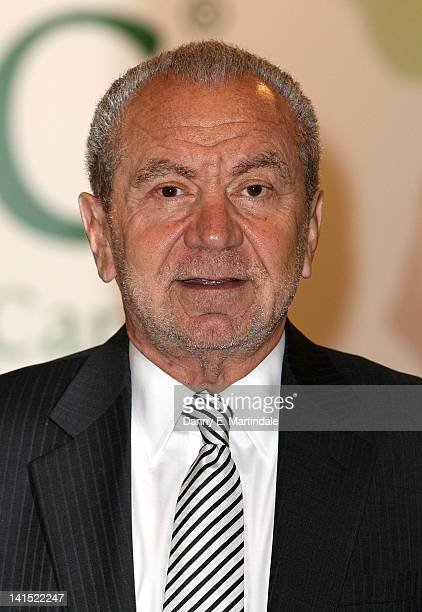 Sir Alan Sugar attend the Ideal Home Show at Earls Court on March 18 2012 in London England
