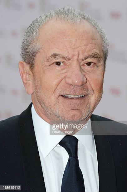 Sir Alan Sugar attends the BAFTA TV Awards 2013 at The Royal Festival Hall on May 12 2013 in London England