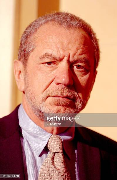 Sir Alan Sugar during Opening of New Marie Lloyd Extension at Hackney Empire in London Great Britain