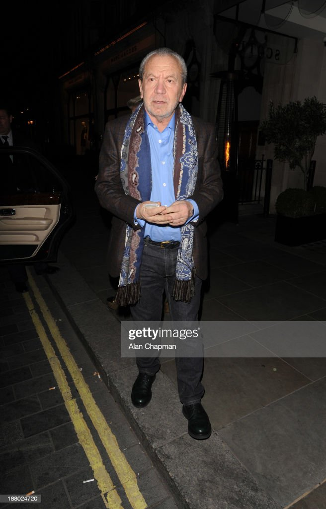 Celebrity Sightings In London - November 14, 2013