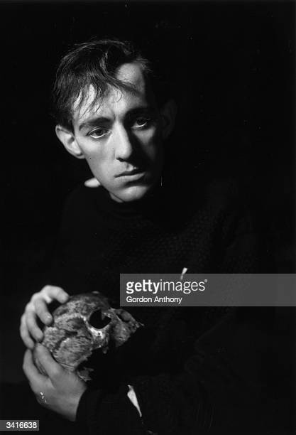 Sir Alec Guinness distinguished British actor in the role of Hamlet
