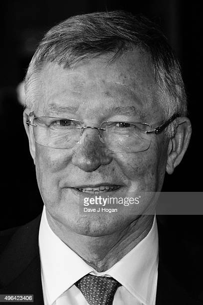 Sir Alex Ferguson attends the World Premiere of 'Ronaldo' at Vue West End on November 9 2015 in London England
