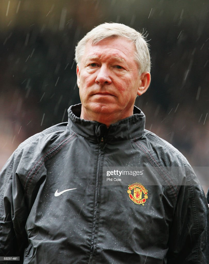 Sir Alex Ferguson manager of Manchester United following the FA Cup Final between Arsenal and Manchester United at The Millennium Stadium on May 21, 2005 in Cardiff, Wales. Arsenal won 5-4.