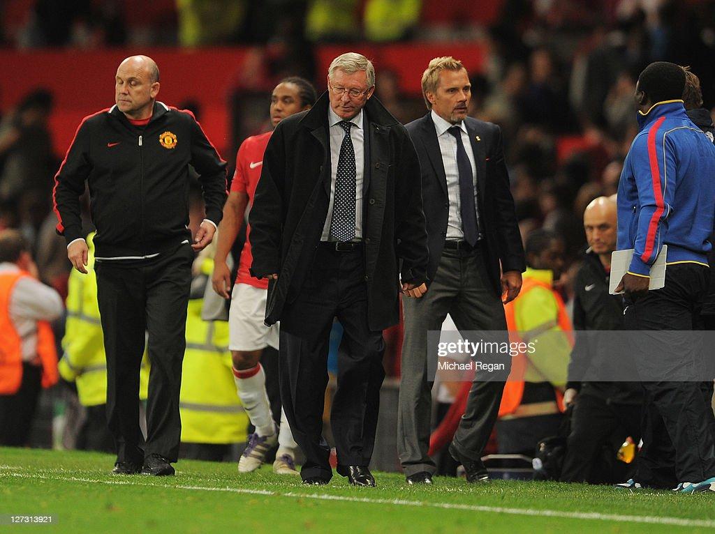 Manchester United FC v FC Basel 1893 - UEFA Champions League : News Photo