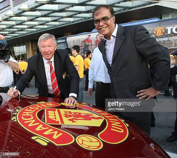 Sir Alex Ferguson of Manchester United attends a Chevrolet Event on July 26, 2012 in Shanghai, China.