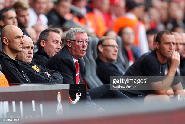 Sir Alex Ferguson the head coach / manager of Manchester United