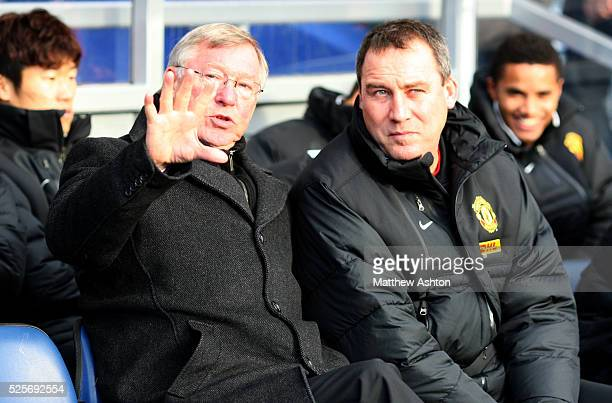 Sir Alex Fersuson the head coach / manager of Manchester United