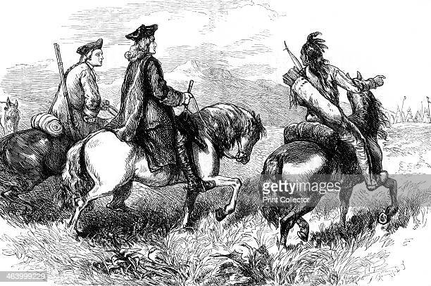 Sir Alexander Cuming on his way to visit the Cherokees South Carolina c1730 Cuming was an English envoy sent to negotiate with the Cherokee and...