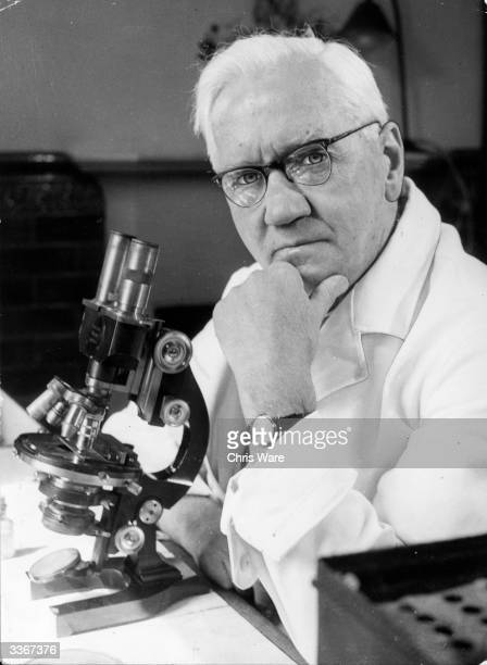 Sir Alexander Fleming British bacteriologist and Nobel laureate best known for his discovery of penicillin