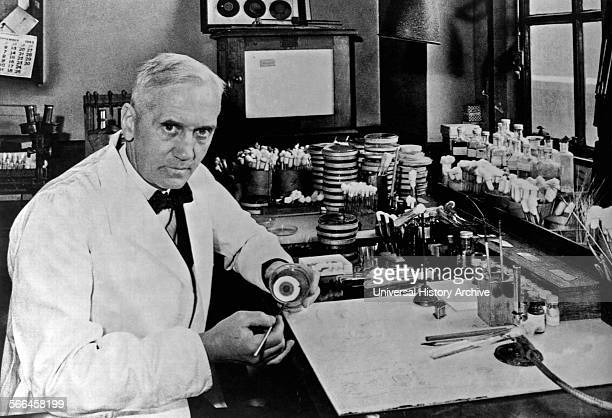 Sir Alexander Fleming was a Scottish biologist pharmacologist and botanist who discovered Penicillin