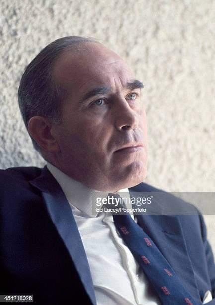 Sir Alf Ramsey England football team manager circa 1968