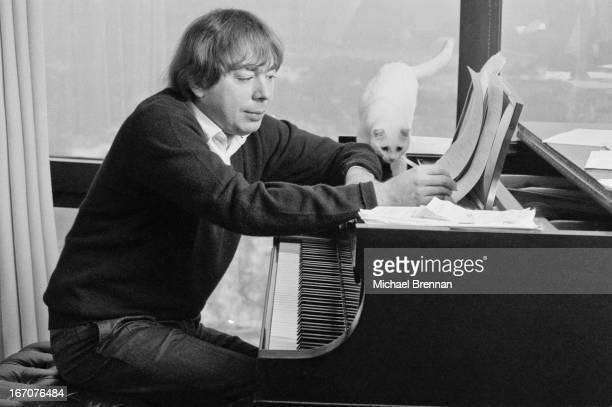 Sir Andrew Lloyd Webber at the piano New York City 1978