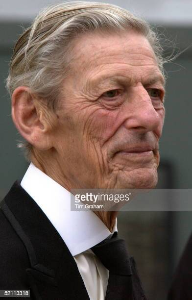 Sir Angus Ogilvy At A Service Of Remembrance For The Iraq War