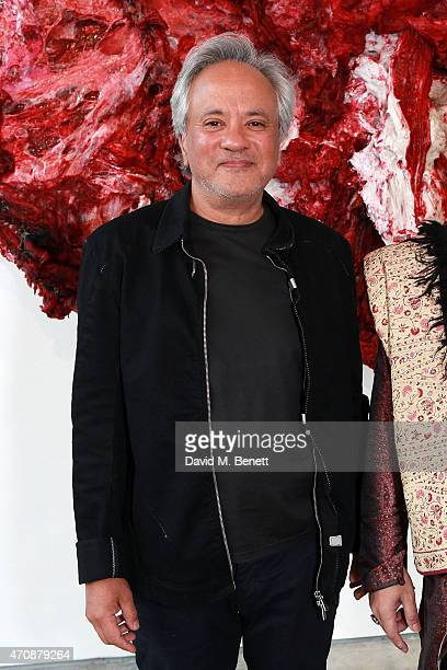Sir Anish Kapoor attends an evening of music by sitar player Nishat Khan inspired by an exhibition of new work by Sir Anish Kapoor at Lisson Gallery...