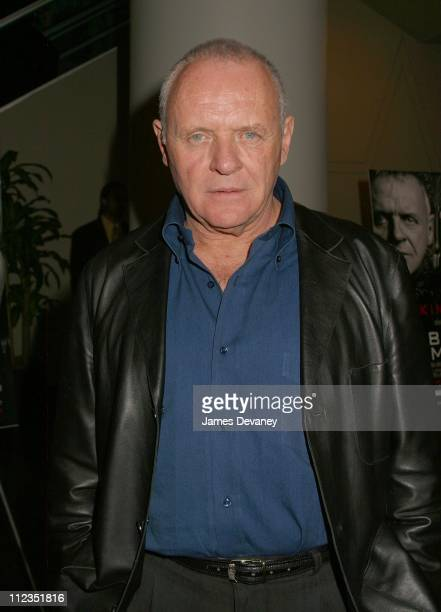 Sir Anthony Hopkins during 'Bad Company' World Premiere at Loews Lincoln Square Theater in New York City New York United States