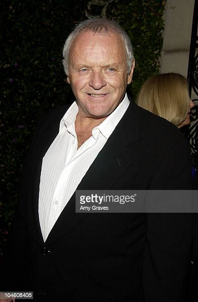 Sir Anthony Hopkins during Chrysalis's Butterfly Ball at Green Acres Estate in Beverly Hills California United States