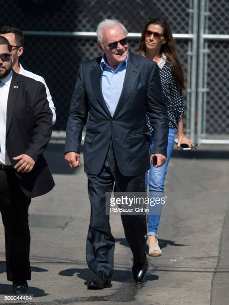 Sir Anthony Hopkins is seen at 'Jimmy Kimmel Live' on June 22 2017 in Los Angeles California