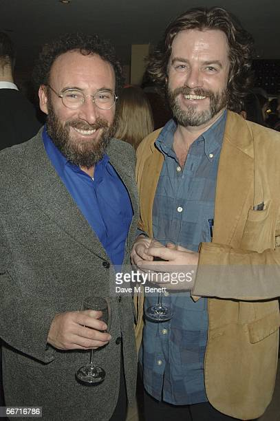 Sir Anthony Sher and Greg Doran attend the after party following the press night for 'Who's Afraid Of Virginia Woolf?' at the Aldwych theatre on...