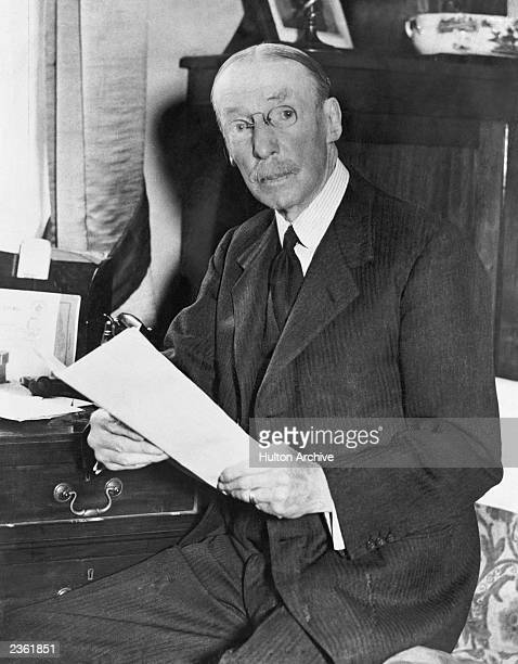 Sir Arthur Henry McMahon British High Commissioner in Cairo circa 1940