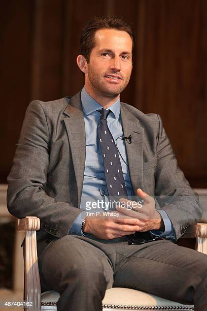 Sir Ben Ainslie during Winning Sir Martin Sorrell and Sir Ben Ainslie part of Advertising Week Europe Piccadilly on March 24 2015 in London England