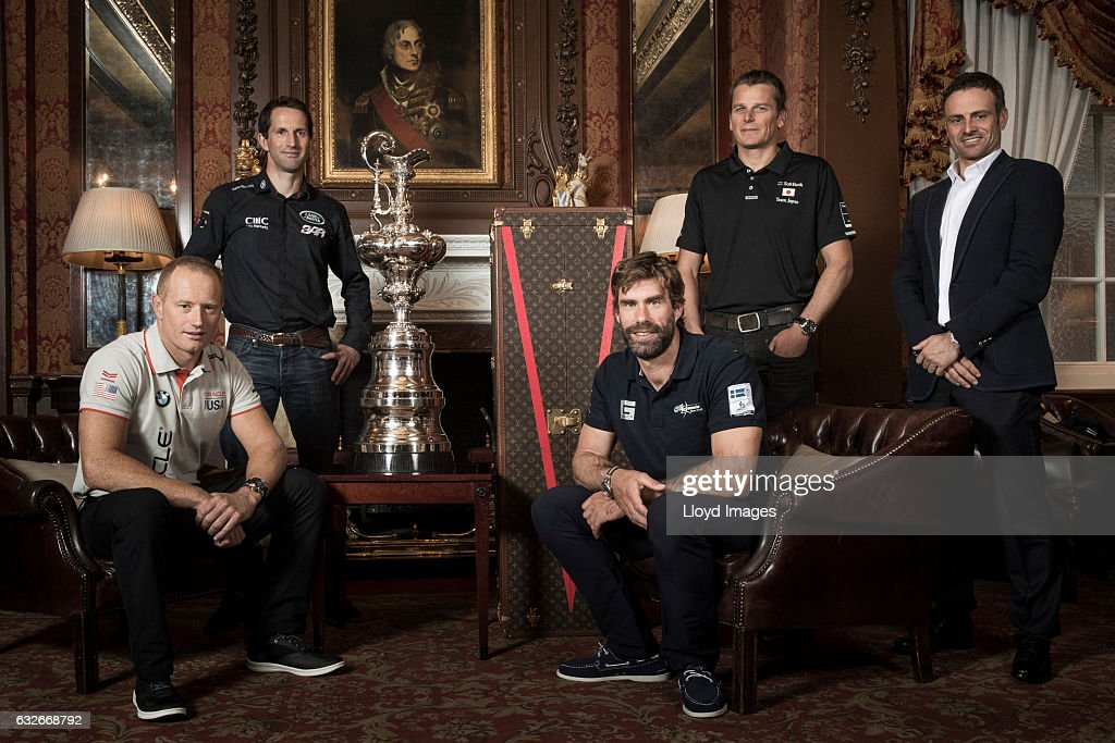 Louis Vuitton America's Cup Photo Shoot