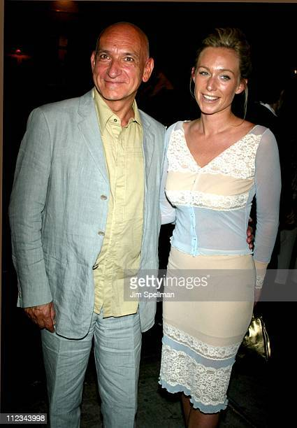 Sir Ben Kingsley Alexandra Christman during Private Screening of Triumph Of Love at Sweetlands in New York City New York United States