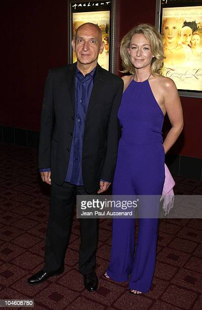 Sir Ben Kingsley Alexandra Christman during Triumph of Love Los Angeles Premiere at ArcLight Theatre in Hollywood California United States