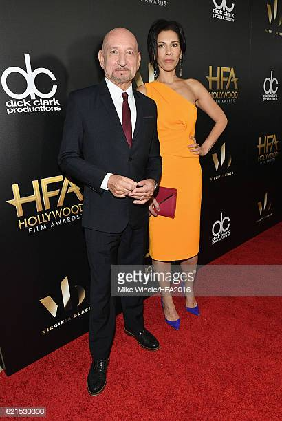 Sir Ben Kingsley and actress Daniela Lavender attend the 20th Annual Hollywood Film Awards on November 6 2016 in Beverly Hills California
