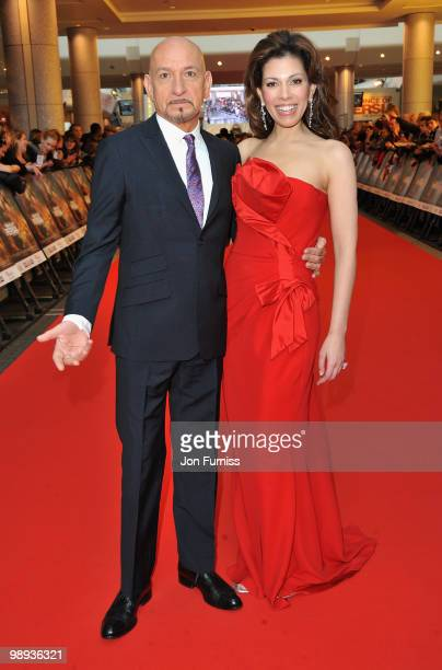 Sir Ben Kingsley and Daniela Lavender attend the 'Prince Of Persia: The Sands Of Time' world premiere at the Vue Westfield on May 9, 2010 in London,...