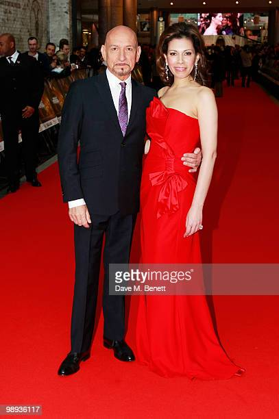 Sir Ben Kingsley and Daniela Lavender attend the World film premiere of 'Prince Of Persia', at Vue Westfield on May 9, 2010 in London, England.