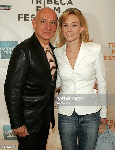 Sir Ben Kingsley and Lady Alexandra Christmann during 3rd Annual Tribeca Film Festival Thunderbirds Screening at Stuyvesant High School in New York...