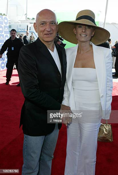 Sir Ben Kingsley and Lady Alexandra Christmann during The 19th Annual IFP Independent Spirit Awards Red Carpet at Santa Monica Pier in Santa Monica...