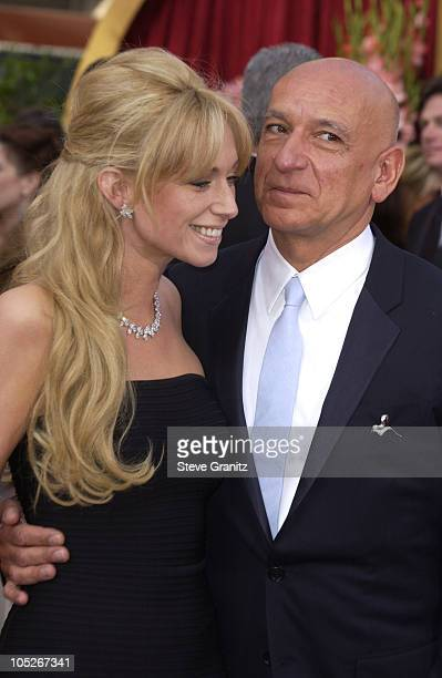 Sir Ben Kingsley and wife Alexandra Christmann during The 76th Annual Academy Awards Arrivals at The Kodak Theater in Hollywood California United...