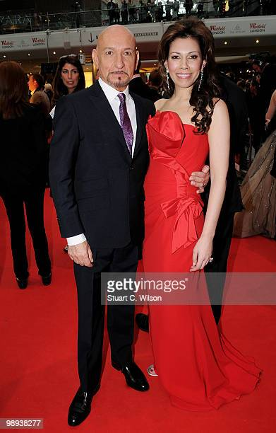 Sir Ben Kingsley and wife Daniela Lavender attend the World Premiere of 'Prince of Persia: The Sands of Time' at the Vue Westfield on May 9, 2010 in...