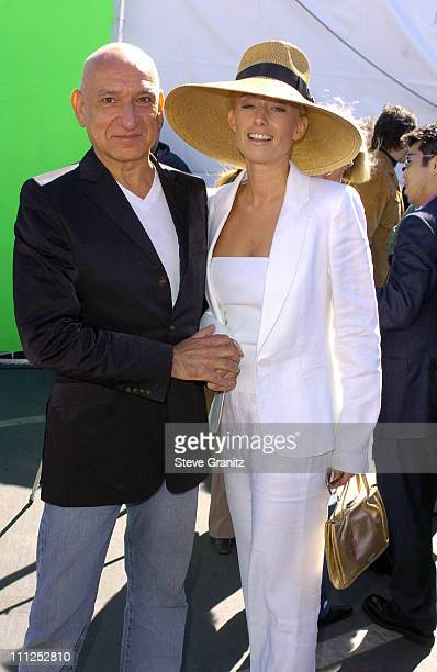 Sir Ben Kingsley and wife Lady Alexandra Christmann