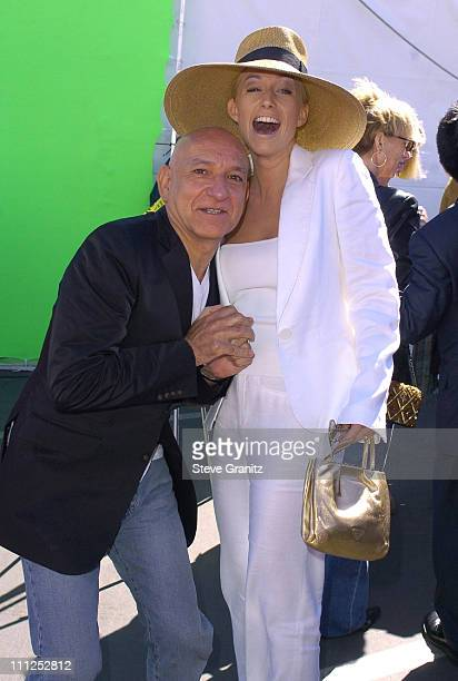 Sir Ben Kingsley and wife Lady Alexandra Christmann