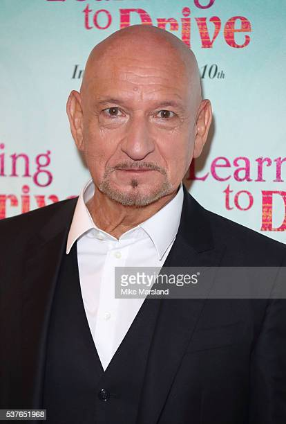 Sir Ben Kingsley arrives for the UK gala screening of 'Learning To Drive' at The Curzon Mayfair on June 2 2016 in London England