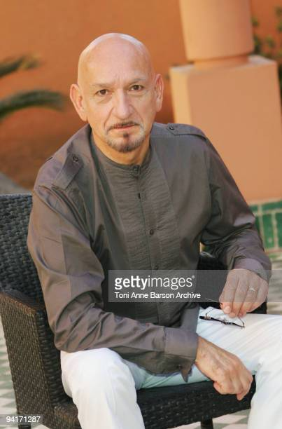 Sir Ben Kingsley attends a photocall at the Mansour Hotel on December 9 2009 in Marrakech Morocco