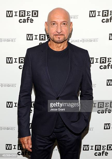 Sir Ben Kingsley attends day 2 of the WIRED Cafe @ Comic Con at Omni Hotel on July 25 2014 in San Diego California