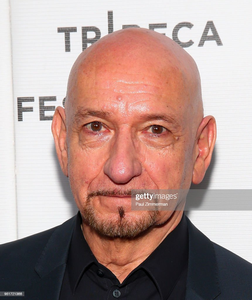 Sir Ben Kingsley attends the 2018 Tribeca Film Festival - 'Schindler's List' Reunion at Beacon Theatre on April 26, 2018 in New York City.