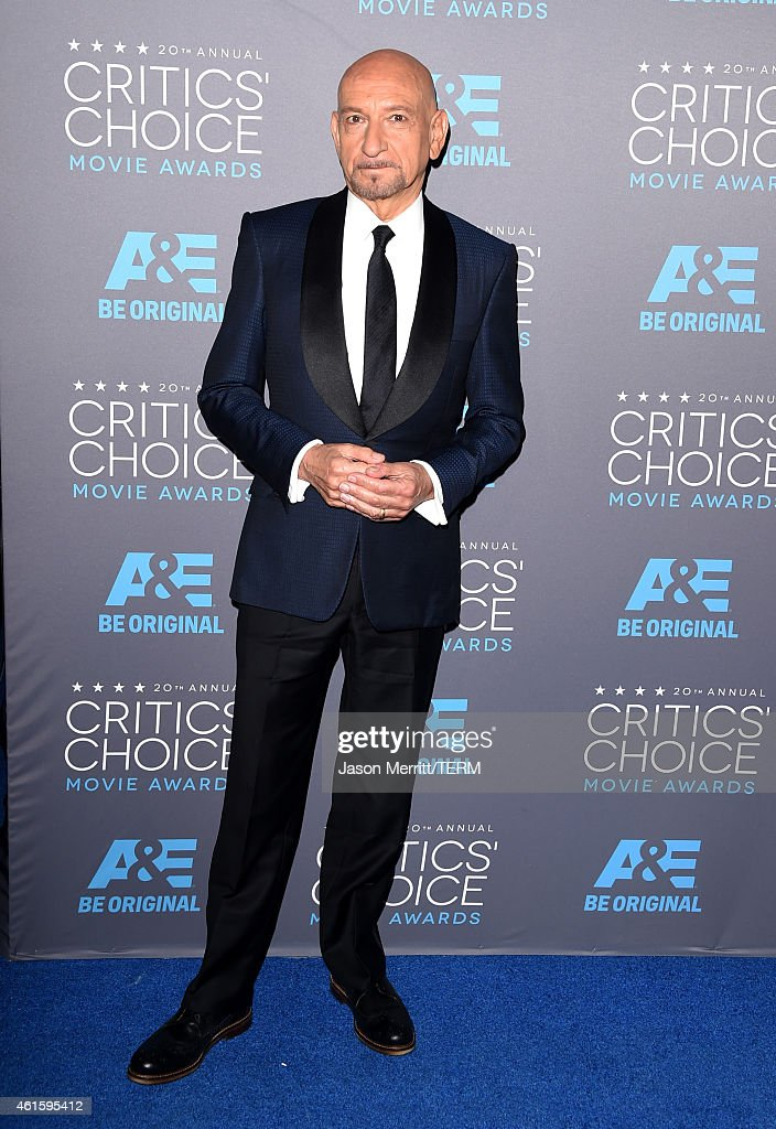 Sir Ben Kingsley attends the 20th annual Critics' Choice Movie Awards at the Hollywood Palladium on January 15, 2015 in Los Angeles, California.