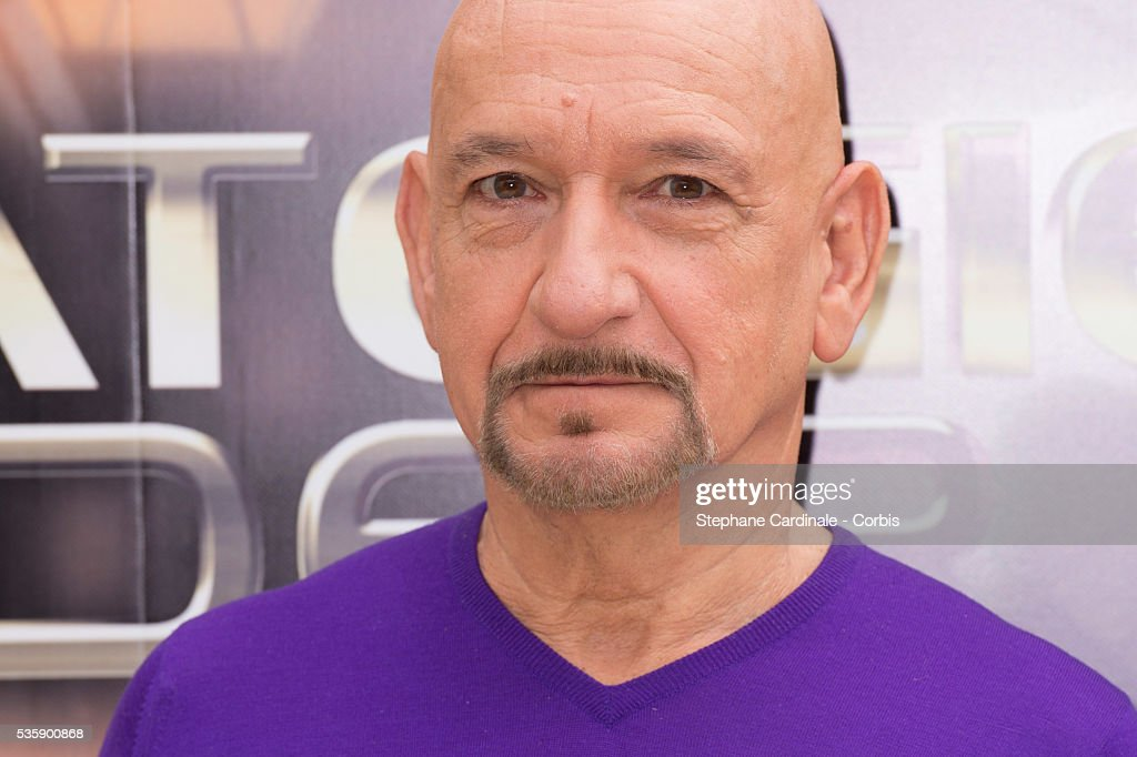 Sir Ben Kingsley attends the 'Ender's Game' Photocall, in Paris.