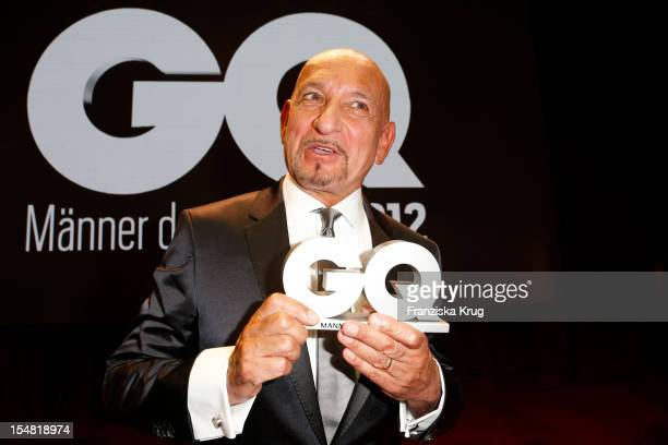 Sir Ben Kingsley attends the 'GQ Maenner des Jahres 2012' at Komische Oper Berlin on October 26 2012 in Berlin Germany