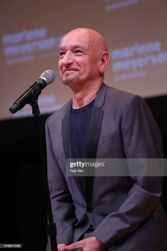Sir Ben Kingsley attends the New York Screening of 'Operation Finale' at Marlene Meyerson JCC Manhattan on August 13, 2018 in New York City.