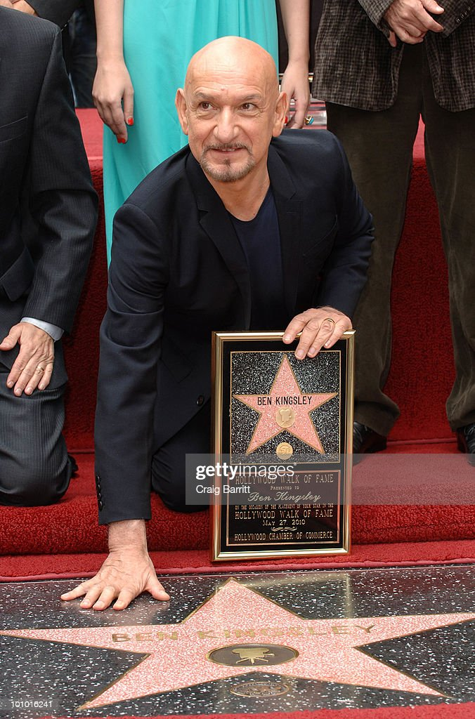 Ben Kingsley Honored With Star On Hollywood Walk Of Fame