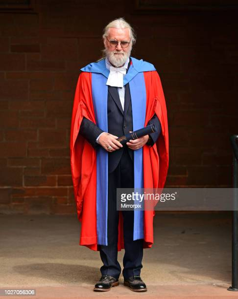 Sir Billy Connolly receives honorary degree at the Barony Hall in Glasgow, from Strathclyde University. 22nd June 2017.