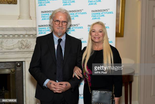 Sir Billy Connolly with his wife Pamela Stephenson during a reception to mark 200 years since Dr James Parkinson published 'An Essay on the Shaking...