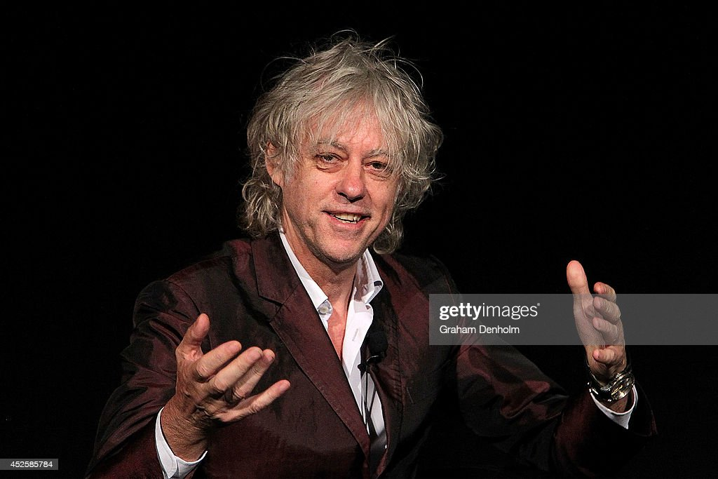 Sir Bob Geldof Addresses International AIDS Conference