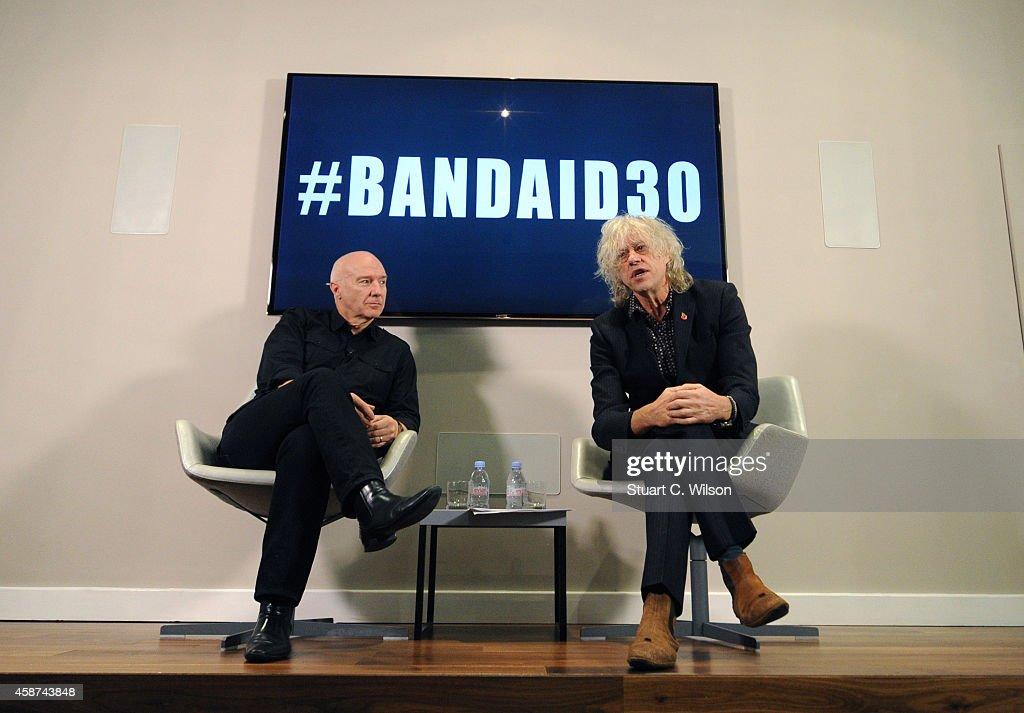 Sir Bob Geldoff Briefing To Launch #BandAid30