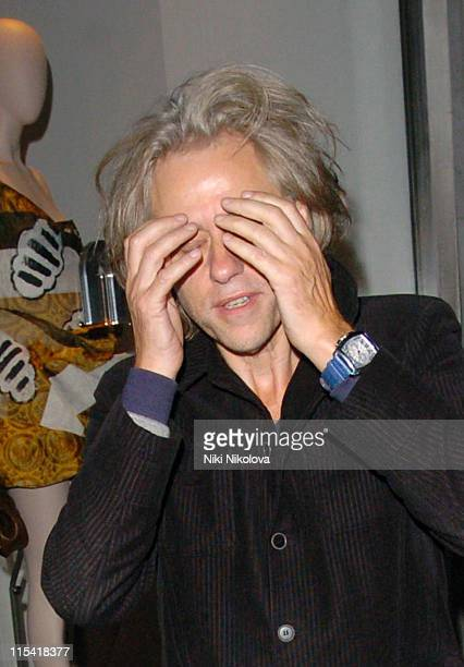 Sir Bob Geldof during Celebrity Sightings at Muse of Mayfair October 4 2006 at Bond Street in London Great Britain